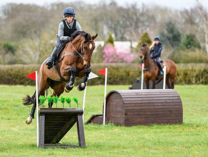 Rosalind Canter - XC Training at Barrowcliffe XC